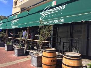 Giovannis, restaurant, Italian, deli, coffee, capetown