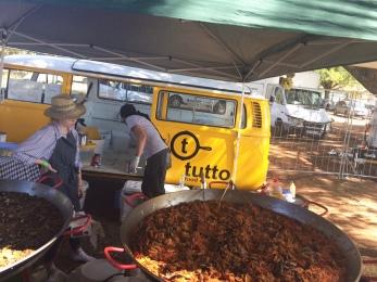 Tutto, Food, Truck, paella, festival,