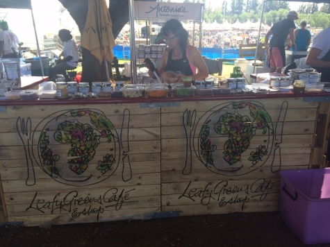 Gourmet Food stands