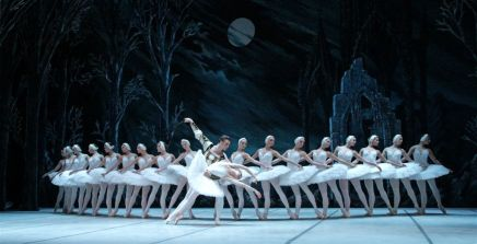ballet, swan, lake, performance, monte, casino